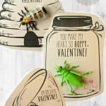 """Will you Bee my Valentine?"" …and other Handmade Buggy Valentines"