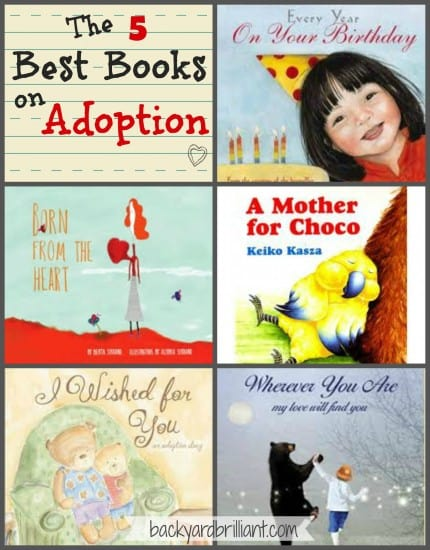 The 5 Best Books on Adoption for Children