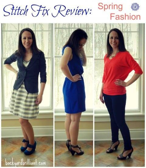 Stitch Fix Review #2: Spring Fashion