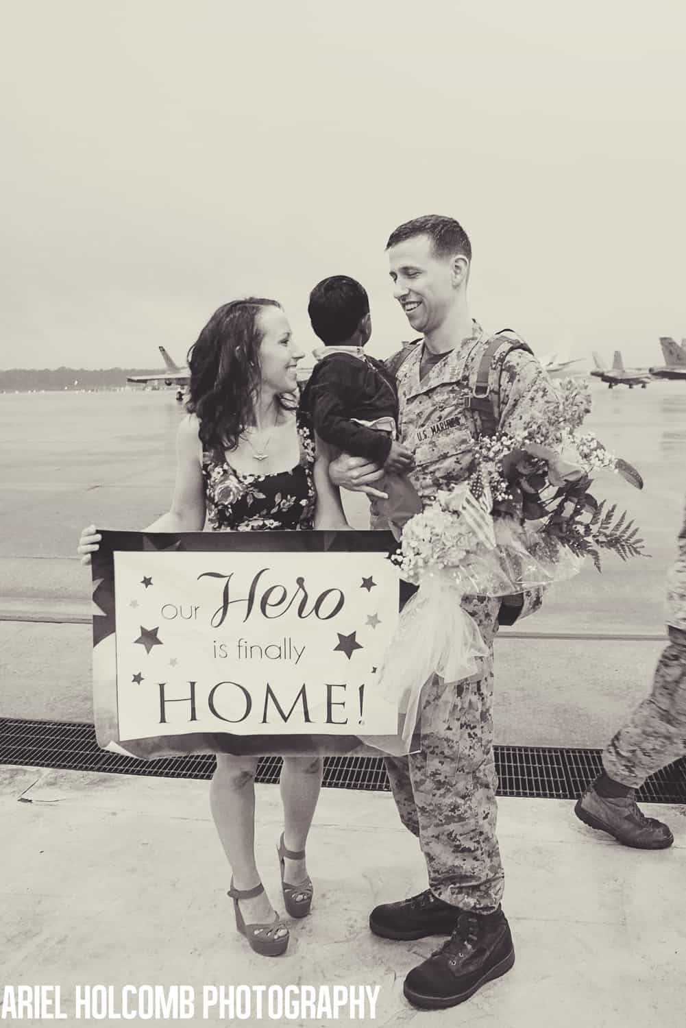 Military Homecoming Video and Photos - Our Hero is Finally Home ...