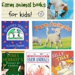 6 Favorite Farm Animal Books for Kids