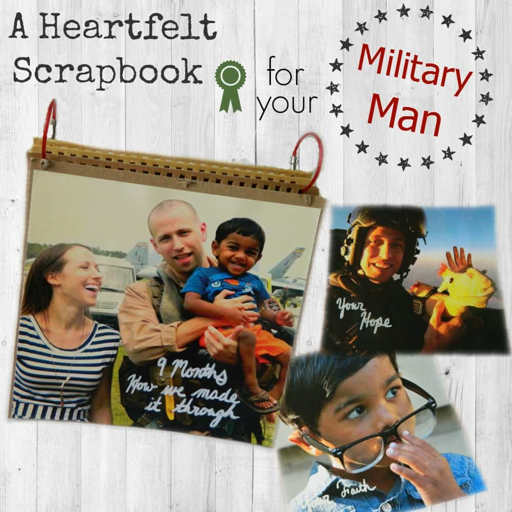 Scrapbook ideas for husband