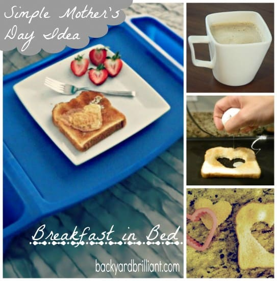 Simple Mother's Day Idea: A Cute Spin on Breakfast in Bed
